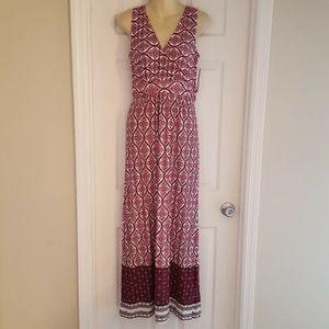 Loveappella Floral Maxi Dress